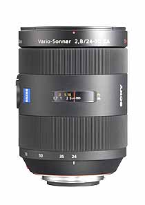 Carl Zeiss® 24-70mm f/2.8 lens