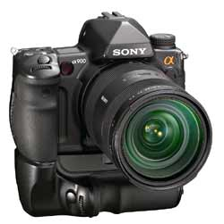 The Sony Alpha A900 is a pro level camera, but needs accessories to work with wireless flash.
