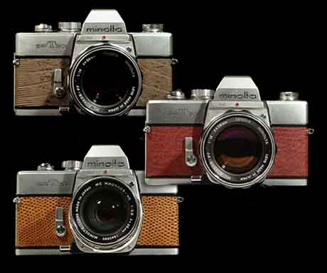 CameraLeather offers many colors and textures
