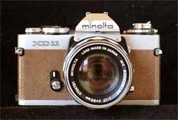 Nice leather covered Minolta XD11