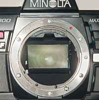 Mirror box of Maxxum 7000