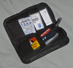 Case Logic Memory Card zipper case