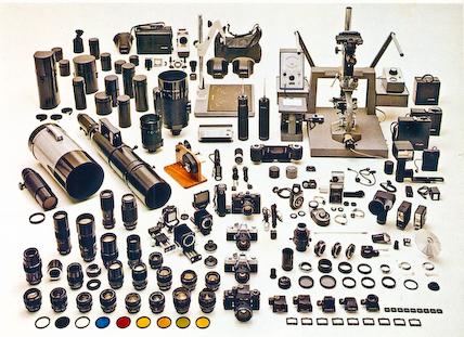 Minolta SLR family, circa 1975