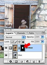 Photoshop layer mask