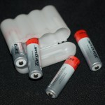 Nylon battery storage case