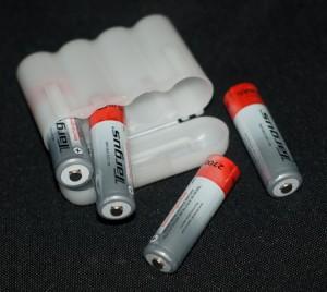 Nylon battery storage case