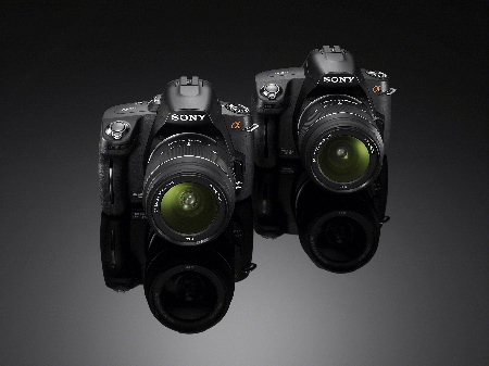 Sony Alpha A390 and A 290