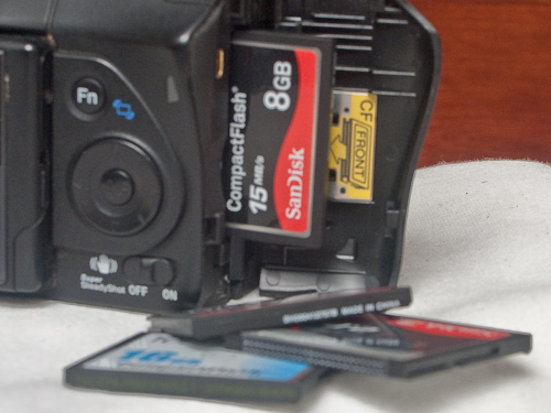How many times can you reuse a memory card? The Compact Flash Association says CF cards can withstand 100 years of use.