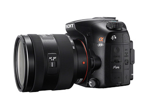Sony Alpha A77 with new 16-50 kit lens