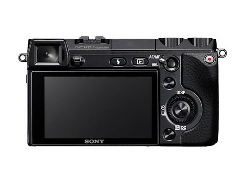 Sony NEX-7 rear view