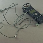 BassBuds attached to Zoom H1