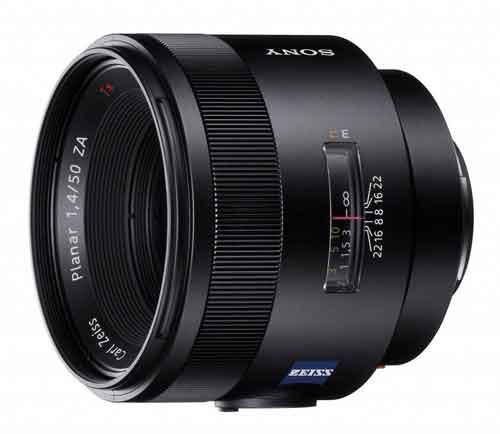 Carl Zeiss 50mm f/1.4 Sony A-mount lens