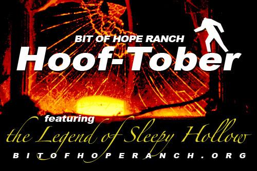 Hooftober at Bit of Hope Ranch
