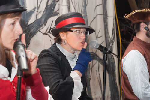 Narrator at Bit of Hope's Reader's Theater