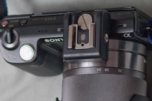 Sony NEX 5n Hot-Shoe